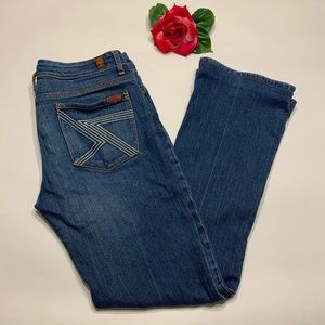 7 for all Mankind Womens Sz 30 Blue Jeans
